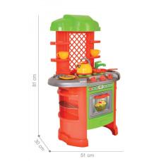 Детская игровая Кухня 0847TXK с посудой