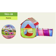 Детская игровая палатка с трубой T011-1B в сумке