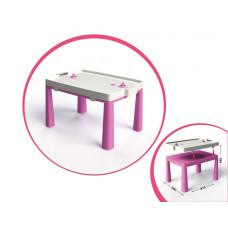 Стол детский+комплект для игры 04580/1/2/3/4/5 (Розовый)
