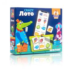 Детская настольная игра 'Crazy Лото' VT8055-09 на укр. языке