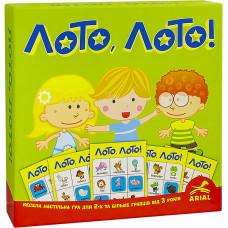 Детская настольная игра Лото Лото Arial 910374 на укр. языке