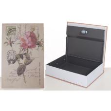 Книга-сейф MK 1847-1 на ключе (Роза)
