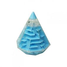 Головоломка 3D-лабиринт F-4 Пирамида (Синий)