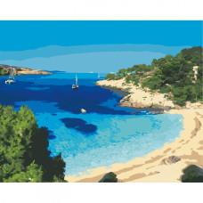 Картина по номерам 'Голубая лагуна. Кипр' Art Craft 10581-AC 40х50 см