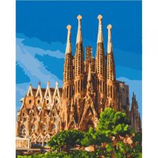 Картина по номерам 'Саграда Фамилия. Барселона' Art Craft 11230-AC 40х50 см