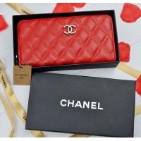 Кожаный кошелек Chanel (Шанель)