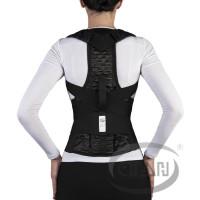 Корсет для спины грудопоясничный с 2-мя металлическими пластинами